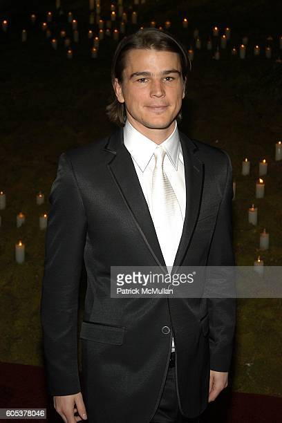 Josh Hartnett attends The Metropolitan Museum of Art Costume Institute Spring 2006 Benefit Gala celebrating the exhibition AngloMania Tradition and...