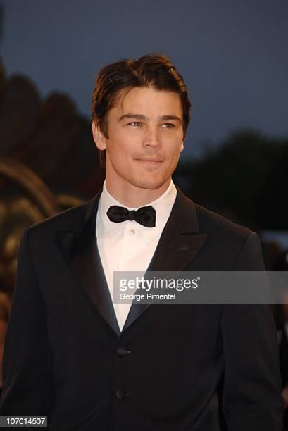 """Josh Hartnett during The 63rd International Venice Film Festival - """"The Black Dahlia"""" Premiere - Arrivals at Palazzo Del Cinema in Venice Lido, Italy."""