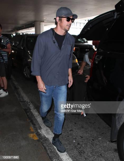 Josh Hartnett is seen on July 17 2018 in Los Angeles CA