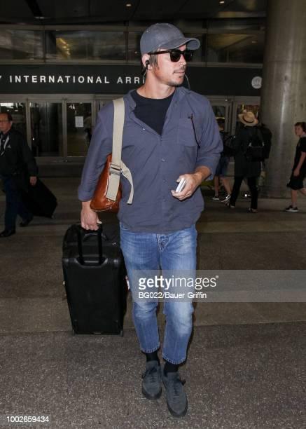 Josh Hartnett is seen on July 17 2018 in Los Angeles California
