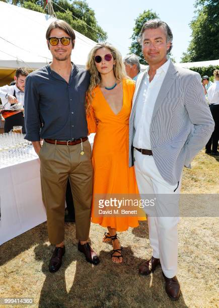 Charlotte Pallister attends Cartier Style Et Luxe at The Goodwood Festival Of Speed Goodwood on July 15 2018 in Chichester England