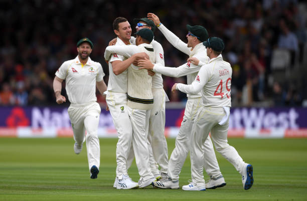 GBR: England v Australia - 2nd Specsavers Ashes Test: Day Two