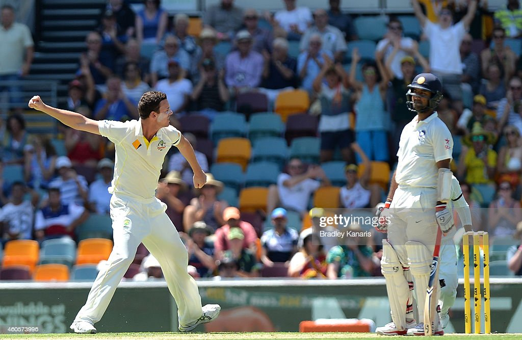 2nd Test - Australia v India: Day 1