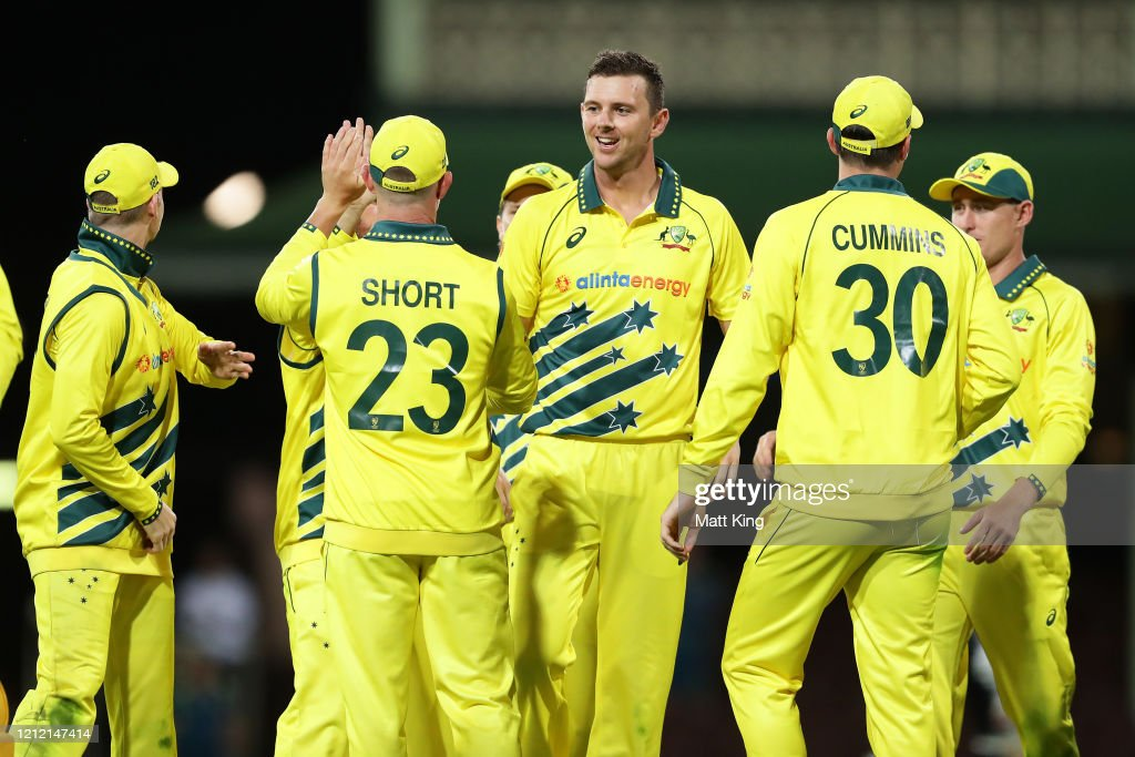 Australia v New Zealand - ODI Game 1 : News Photo