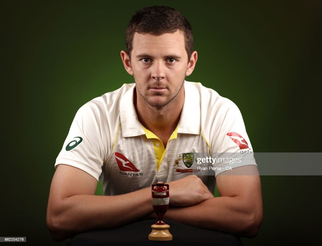 Australian Test Team Portrait Session : News Photo