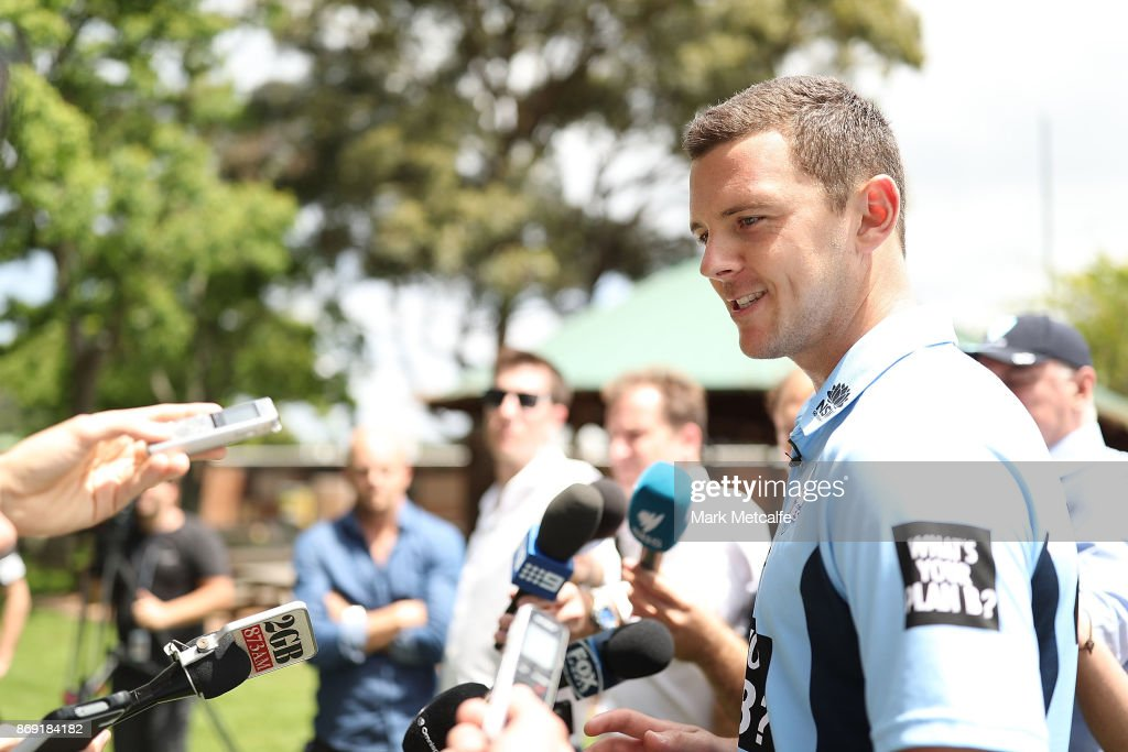 NSW Sheffield Shield Media Opportunity : News Photo