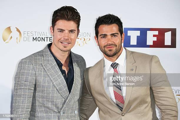 Josh Henderson and Jesse Metcalfe attend Dallas Party at the Monte Carlo Bay Hotel on June 12 2013 in MonteCarlo Monaco
