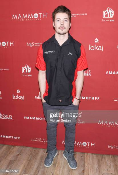 Josh Henderson arrives at The Inaugural Mammoth Film Festival on February 10 2018 in Mammoth Lakes California