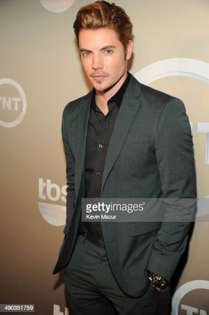 Josh Henderson attends the TBS / TNT Upfront 2014 at The Theater at Madison Square Garden on May 14 2014 in New York City 24674_001_0147JPG