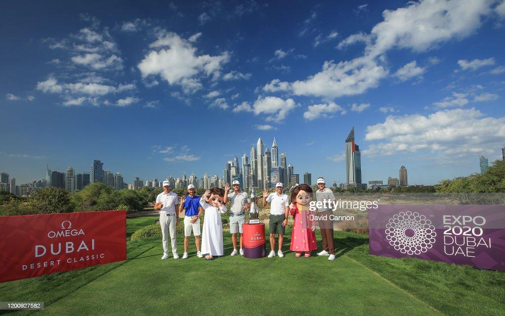 Omega Dubai Desert Classic - Previews : Nieuwsfoto's