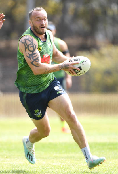 AUS: Canberra Raiders Training Session