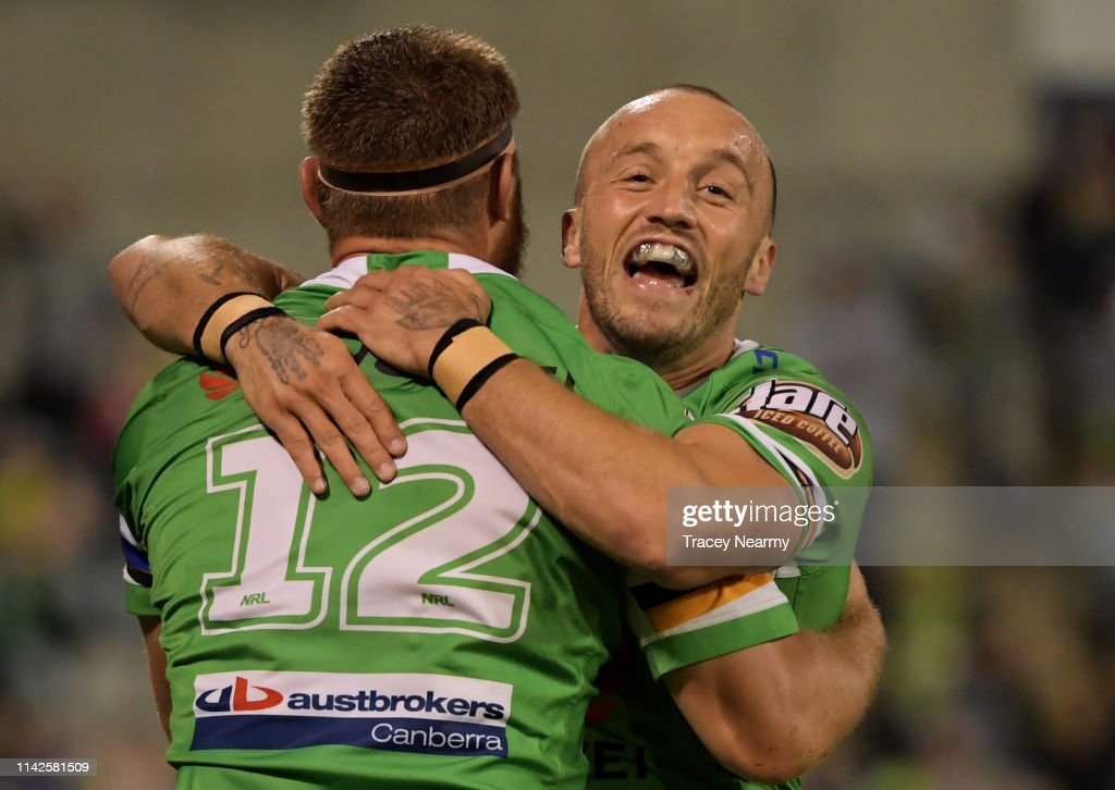 NRL Rd 5 - Raiders v Eels : News Photo