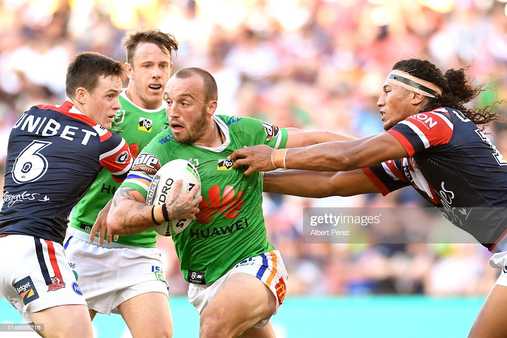 NRL Rd  9 - Roosters v Raiders : News Photo