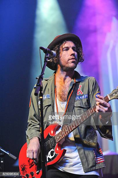 Josh Hogan of The Mowgli's performs onstage during Perez Hilton's One Night in Austin at Austin Music Hall on March 21 2015 in Austin Texas
