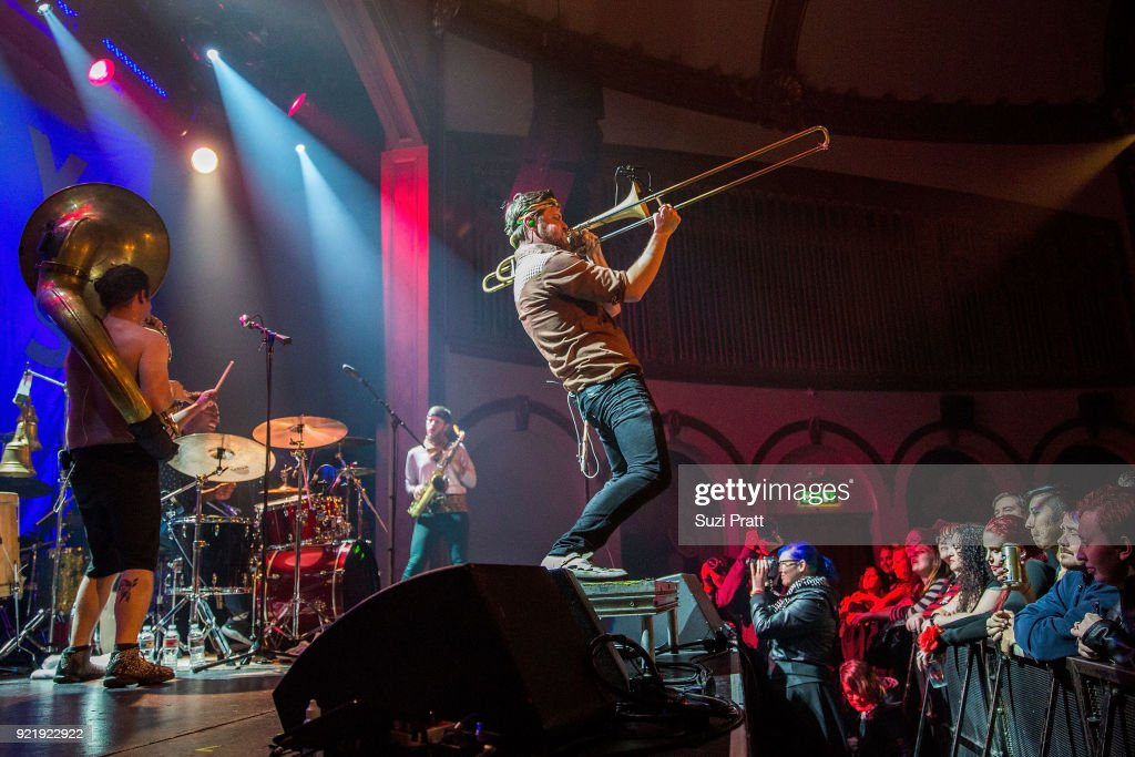 Gogol Bordello Performs At Neptune Theatre : News Photo