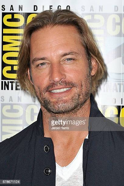Josh Holloway attends the press line for 'Colony' at Comic Con on July 21 2016 in San Diego California