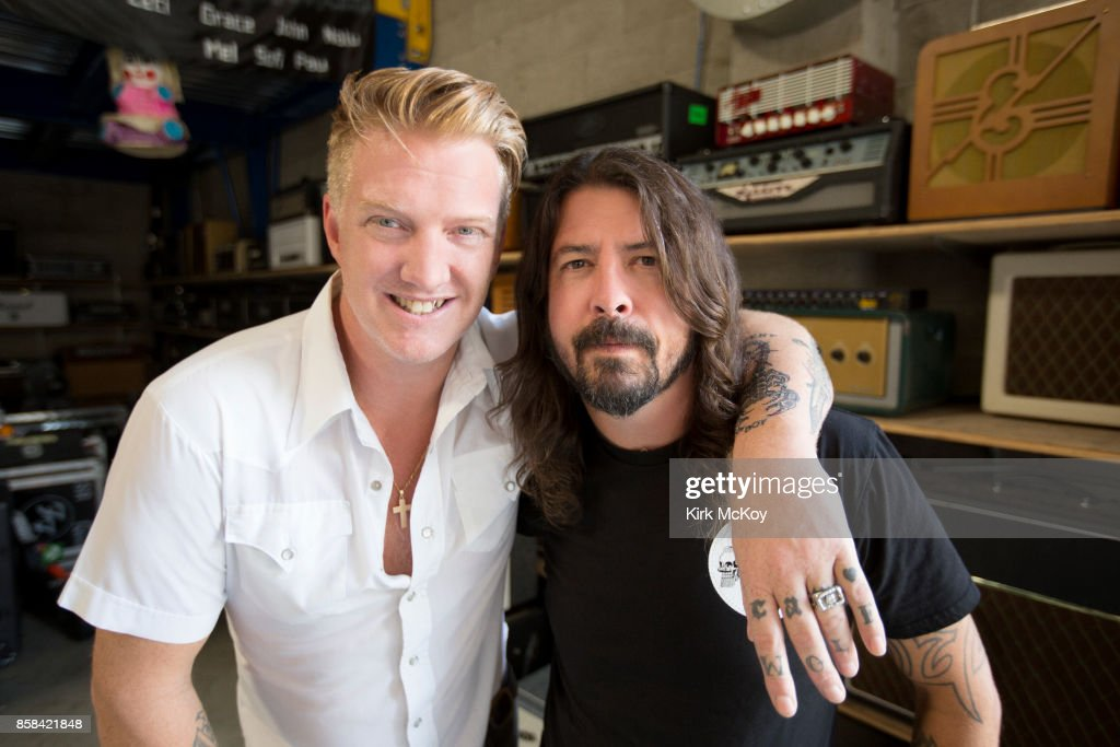 Dave Grohl and Josh Homme, Los Angeles Times, October 1, 2017