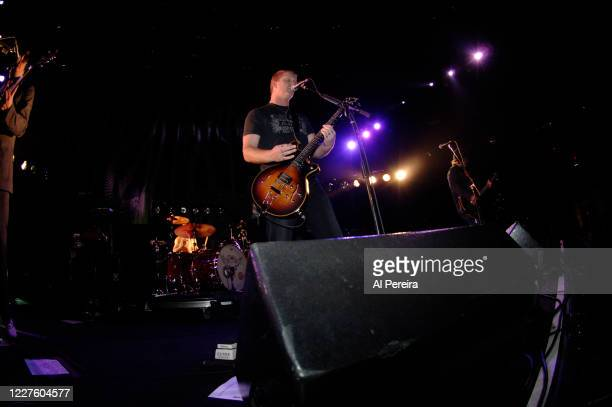 Josh Homme and Queens Of The Stone Age performs at Madison Square Garden on November 3 2005 in New York City