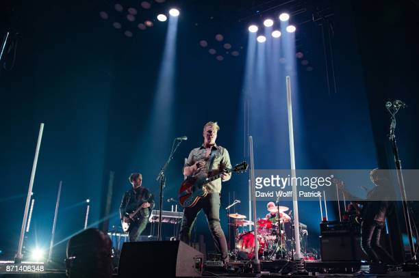 Josh Homme from Queens of the Stone Age performs at AccorHotels Arena on November 7 2017 in Paris France