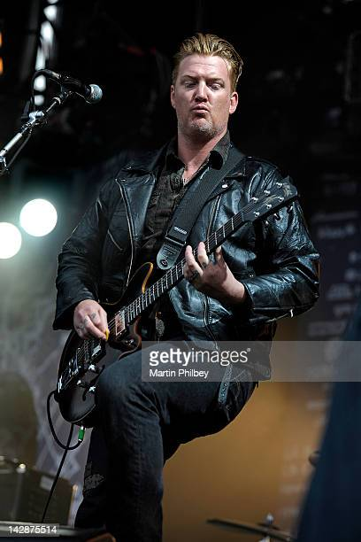 Josh Homme of Queens of the Stone Age performs on stage at the Soundwave Music Festival on March 4th 2011 in Melbourne Australia