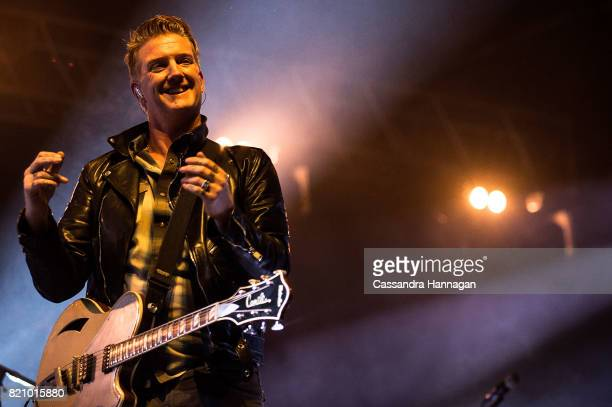 Josh Homme of the band Queens of the Stoneage performs during Splendour in the Grass 2017 on July 22 2017 in Byron Bay Australia