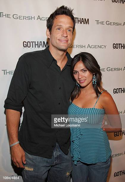 Josh Hopkins and Alex Botega during The Gersh Agency Celebrates New York Upfronts with Gotham Magazine at BED in New York City New York United States