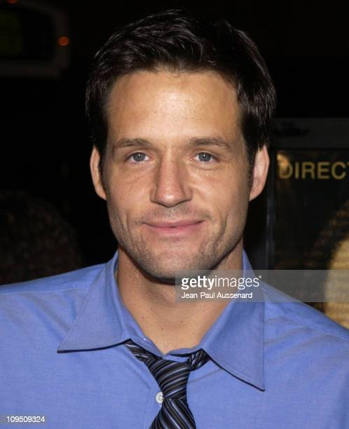 Josh Hopkins during 'Antwone Fisher' Premiere Beverly Hills at Academy of Motion Picture Arts Sciences in Beverly Hills California United States