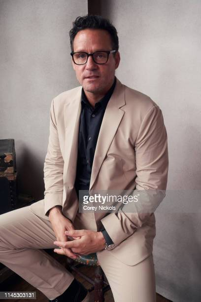 Josh Hopkins of the film 'Crown Vic' poses for a portrait during the 2019 Tribeca Film Festival at Spring Studio on April 26 2019 in New York City