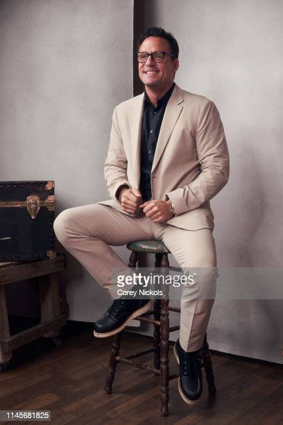 Josh Hopkins of the film 'Crown Vic' poses for a portrait during the 2019 Tribeca Film Festival at Spring Studio on April 27 2019 in New York City