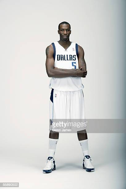 Josh Howard of the Dallas Mavericks poses for a portrait during the Meet The Media Session on October 3 2005 at American Airlines Center in Dallas...