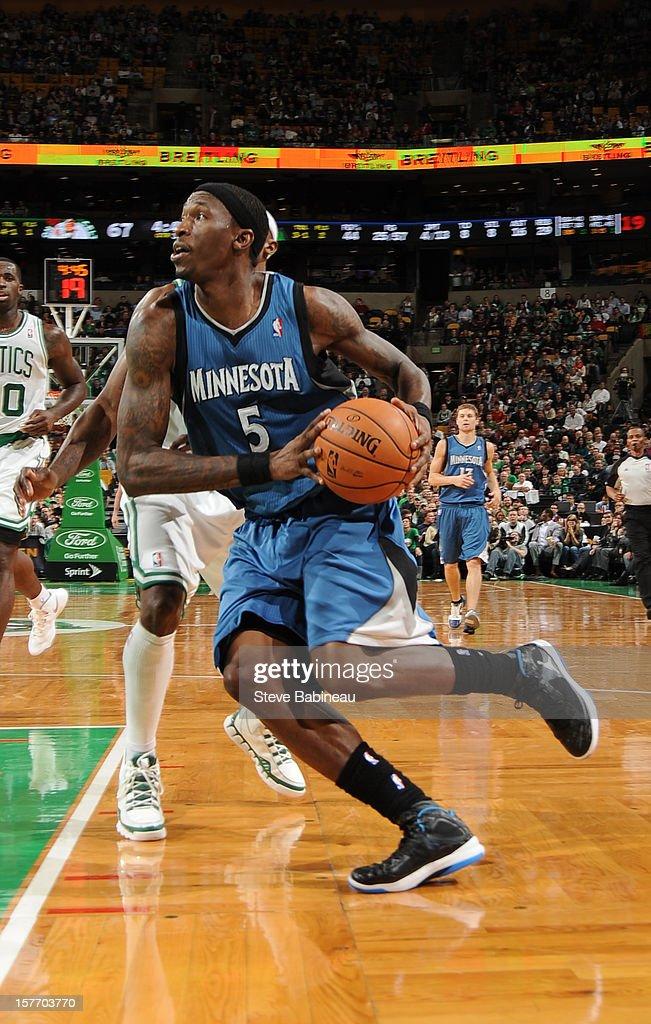 Minnesota Timberwolves v Boston Celtics