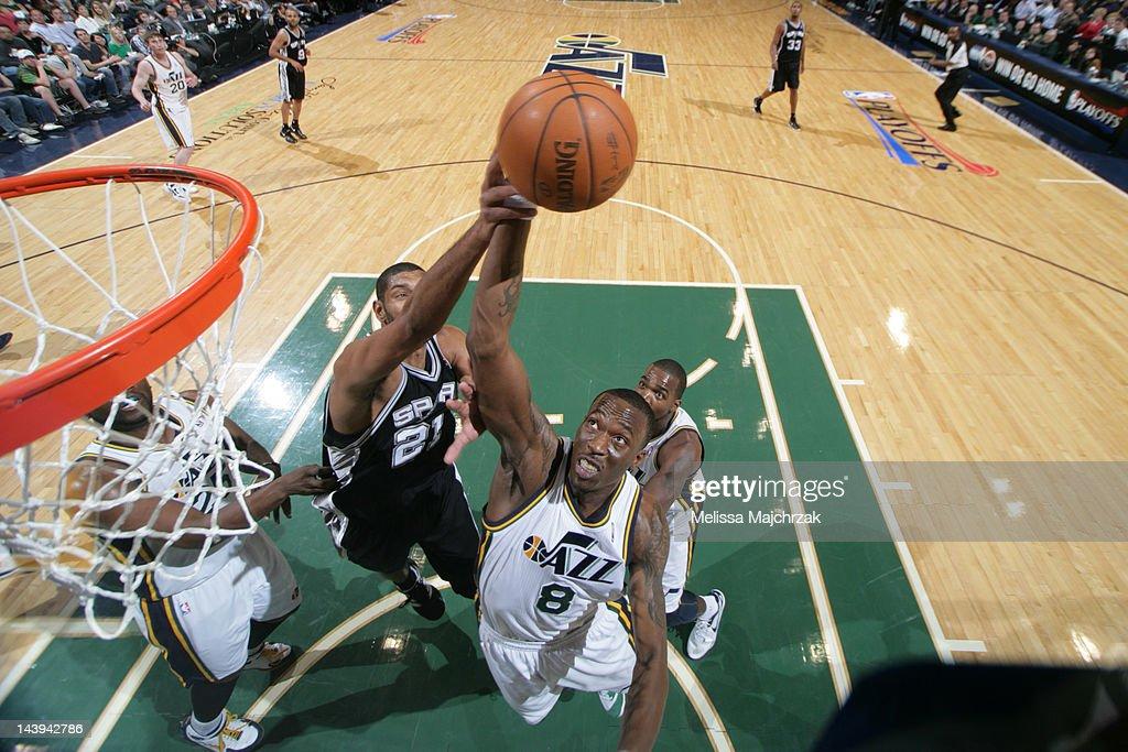 San Antonio Spurs v Utah Jazz - Game Three