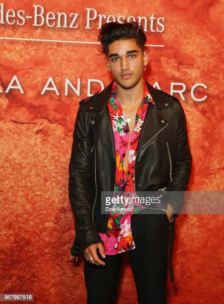 Josh Hughston arrives for the MercedesBenz Presents Camilla And Marc show at MercedesBenz Fashion Week Resort 19 Collections at the Royal Hall of...