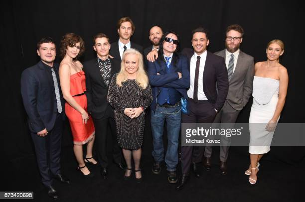 Josh Hutcherson Alison Brie Dave Franco Greg Sestero Jacki Weaver Paul Scheer Tommy Wiseau James Franco Seth Rogen and Air Graynor attend the...