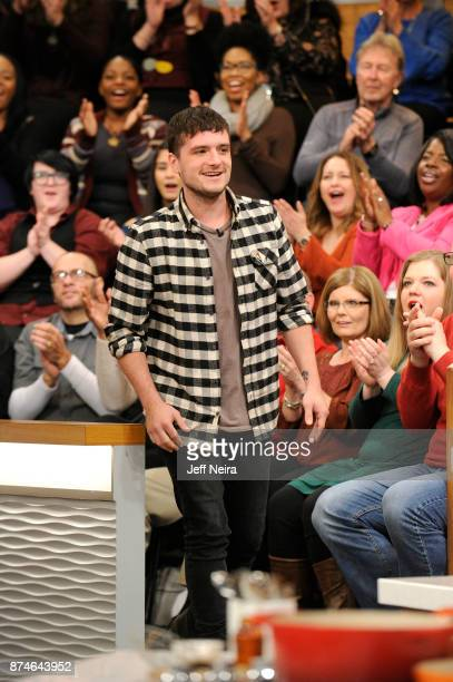 THE CHEW Josh Hutcherson and Suzanne Somers are guests Wednesday November 15 2017 on Walt Disney Television via Getty Images's The Chew The Chew airs...