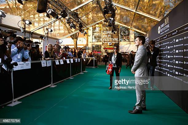 Josh Hutcherson attends the 'EscobarParadise Lost' Green Carpet Arrivals during Day 4 of Zurich Film Festival 2014 on September 28 2014 in Zurich...