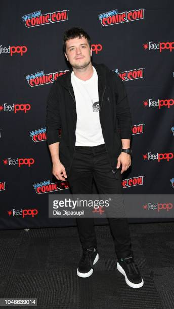 Josh Hutcherson attends the Future Man panel during New York Comic Con at Jacob Javits Center on October 6 2018 in New York City