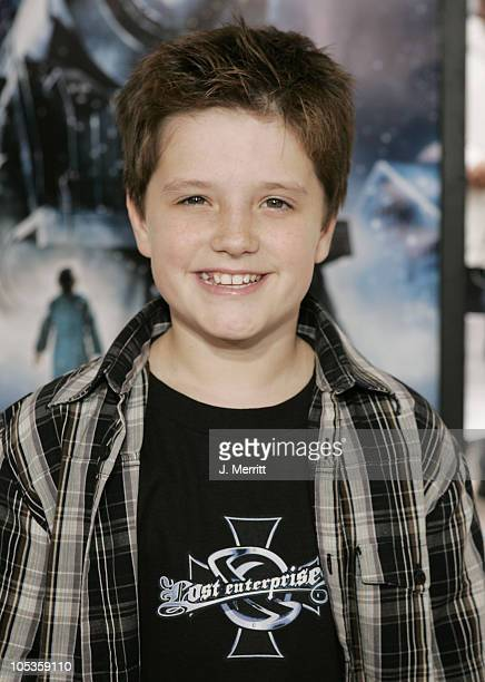 Josh Hutcherson during The Polar Express Los Angeles Premiere Arrivals at Grauman's Chinese in Hollywood California United States
