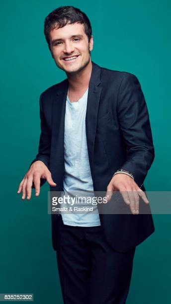 Josh Hutcherson of Hulu's 'Future Man' poses for a portrait during the 2017 Summer Television Critics Association Press Tour at The Beverly Hilton...