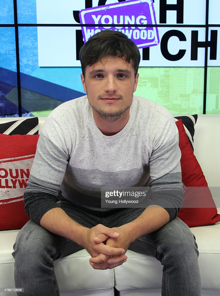 Josh Hutcherson Visits Young Hollywood Studio