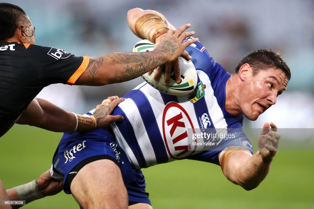 NRL Rd 12 - Tigers v Bulldogs
