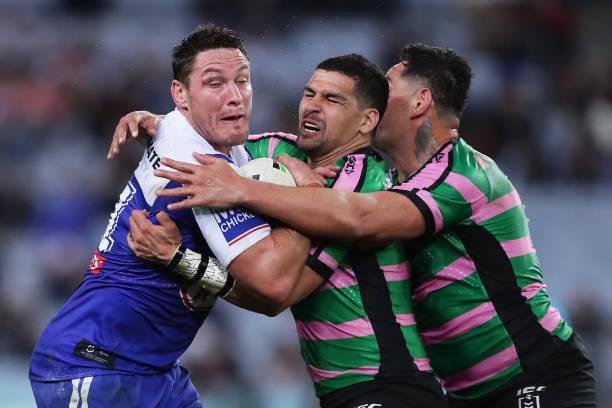 AUS: NRL Rd 22 - Rabbitohs v Bulldogs