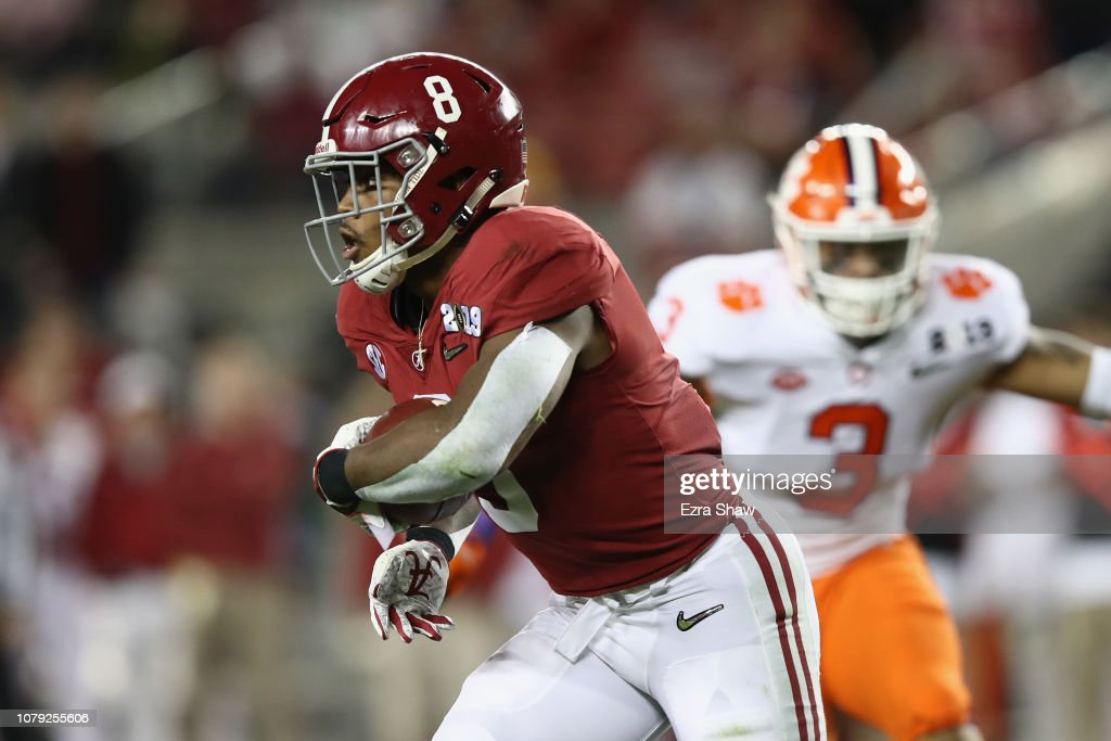 College Football Playoff National Championship Presented By AT&T - Alabama v Clemson : News Photo