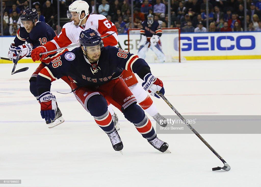 Detroit Red Wings v New York Rangers : News Photo