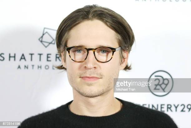 Josh Kaye attends the Los Angeles premiere of Starlight Studios and Refinery29's 'Come Swim' held at The Landmark on November 9 2017 in Los Angeles...