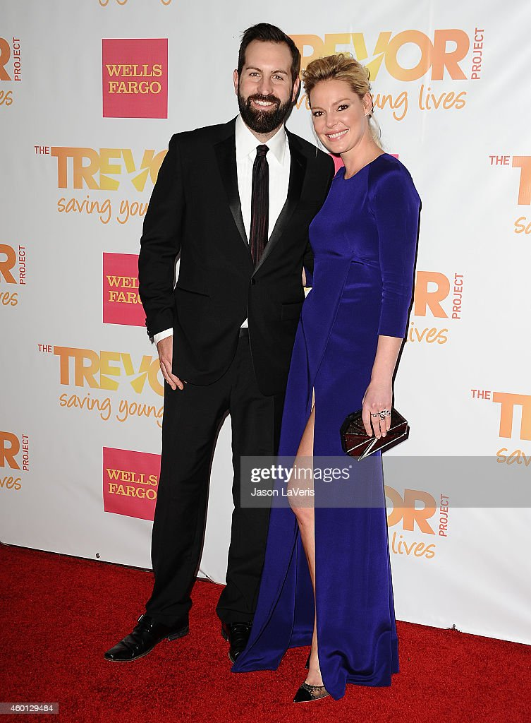 Josh Kelley and Katherine Heigl attend TrevorLIVE Los Angeles at the Hollywood Palladium on December 7, 2014 in Los Angeles, California.