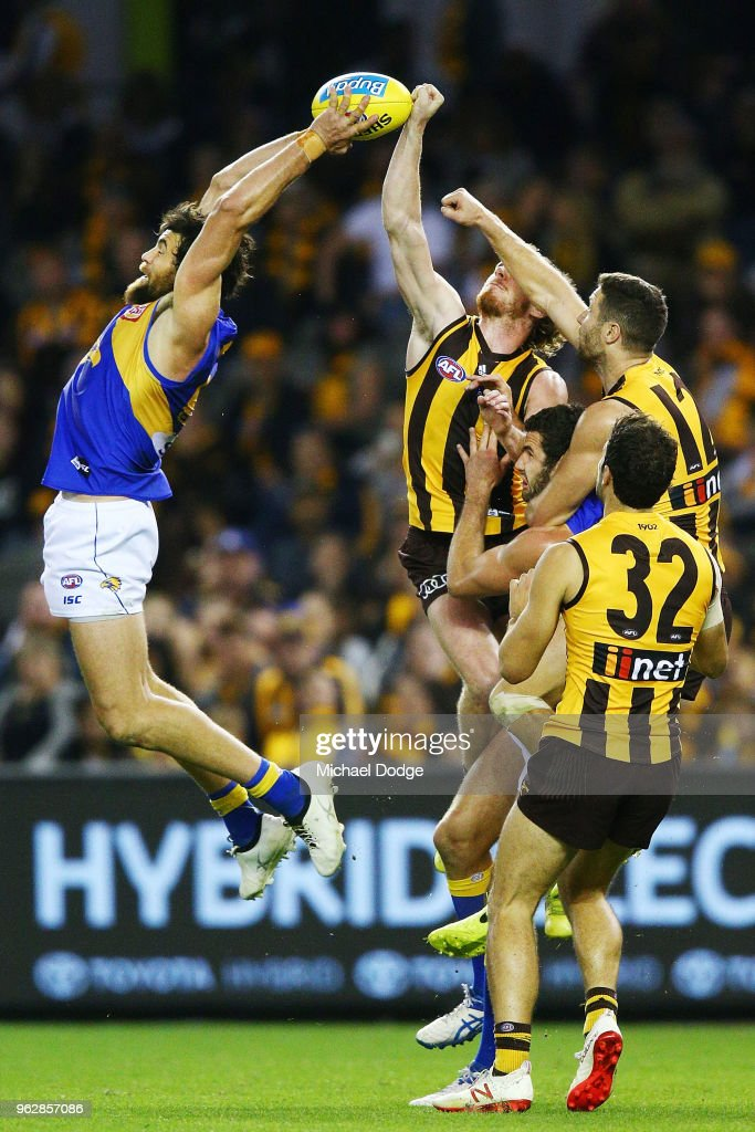 AFL Rd 10 - Hawthorn v West Coast