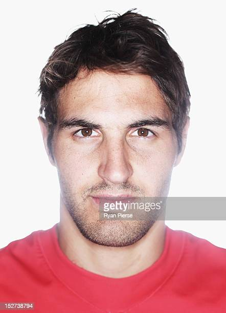 Josh Kennedy of the Swans poses during a Sydney Swans AFL media session at the Sydney Cricket Ground on September 25 2012 in Sydney Australia