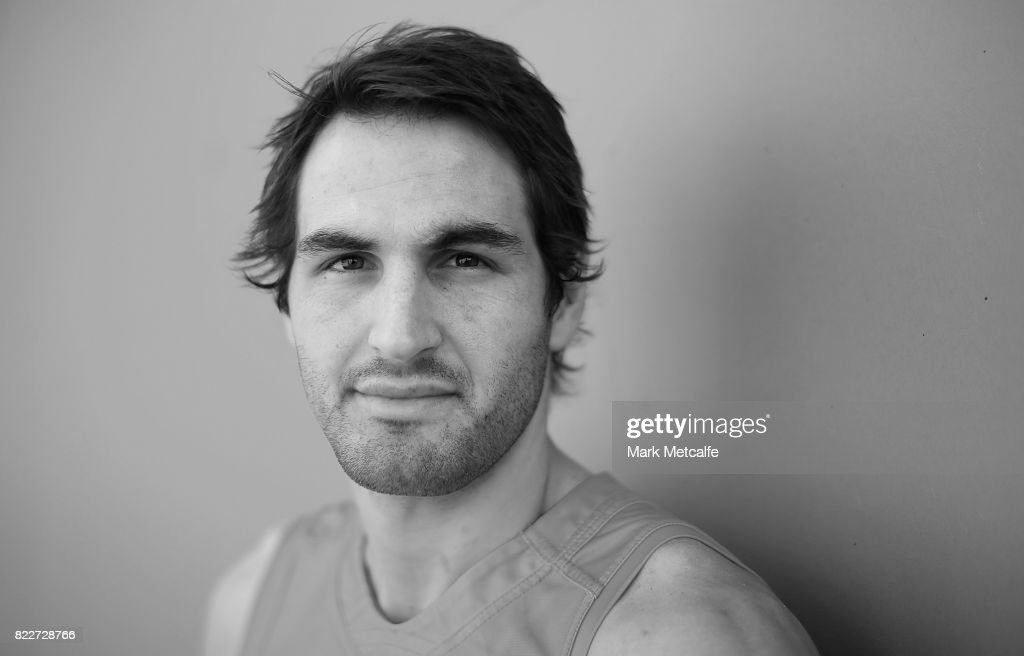 Josh Kennedy poses during a Sydney Swans AFL training session at Sydney Cricket Ground on July 26, 2017 in Sydney, Australia.