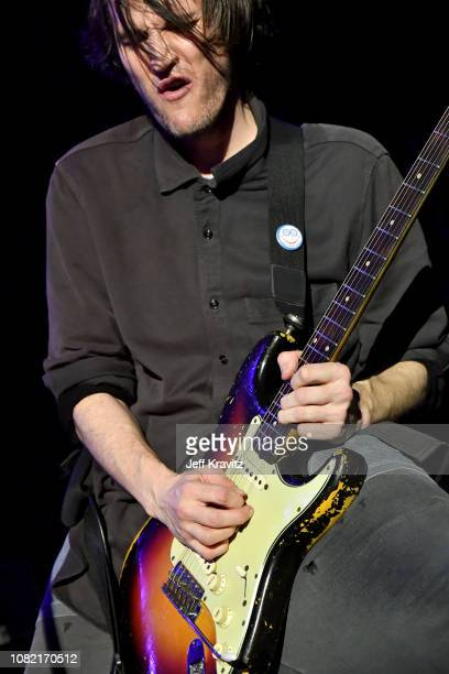 Josh Klinghoffer of the Red Hot Chili Peppers performs at Malibu Love Sesh Benefit Concert for victims of the Malibu Fires at the Hollywood Palladium...